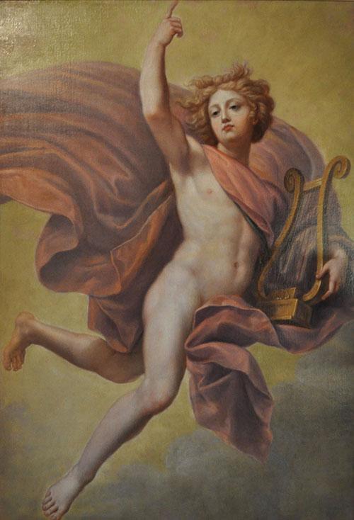 Apollon dans les nuées
